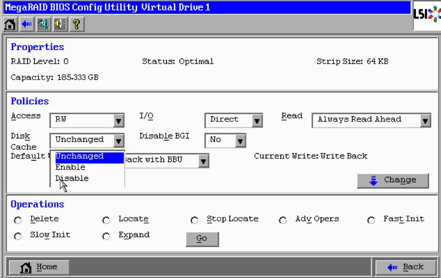 Configuring LSI MegaRAID 9271CV-81 I/O Controller for VSAN